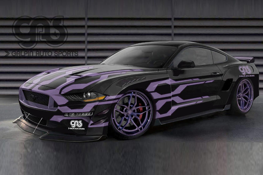 Ford Wants You To Look At These SEMA Mustangs CarBuzz - Mustangs plus car show 2018