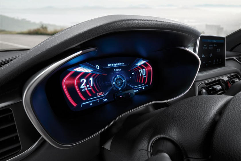 Genesis G70 Will Get Even Better With Awesome 3D Instrument Cluster