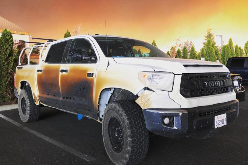 Heroic LA Nurse Risks Life To Save Others In His Toyota Tundra