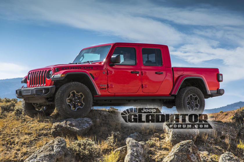 LEAKED: This Is The 2020 Jeep Gladiator