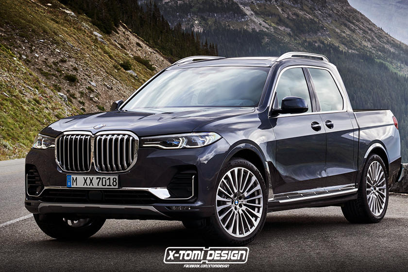 Bmw X7 Transformed Into Pickup X7 M And X8 Carbuzz