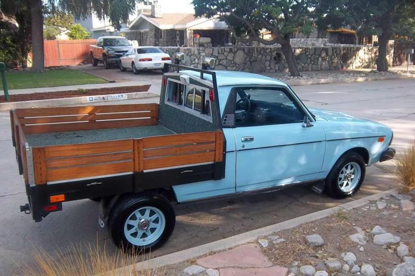 Weekly Craigslist Hidden Treasure 1978 Subaru Brat Carbuzz