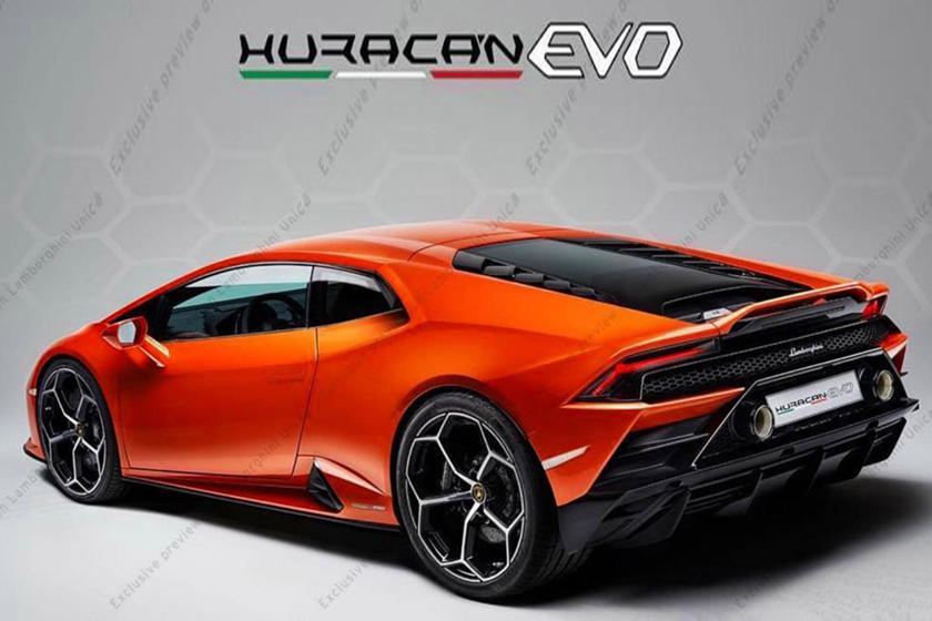 Leaked This Is The New Lamborghini Huracan Evo Carbuzz