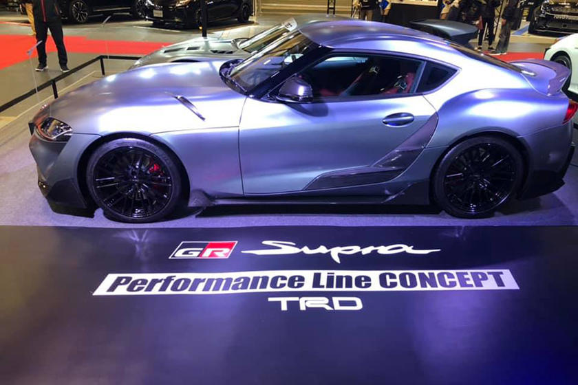 ... points out the carbon fiber accessories were designed to not only give  the Supra a wider stance for a meaner look ba4656b33b40