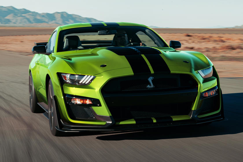 2020 Ford Mustang Shelby GT500 Gets New Retro-Inspired Color Options