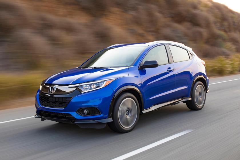 2019 Honda Hr V Review Trims Specs And Price Carbuzz