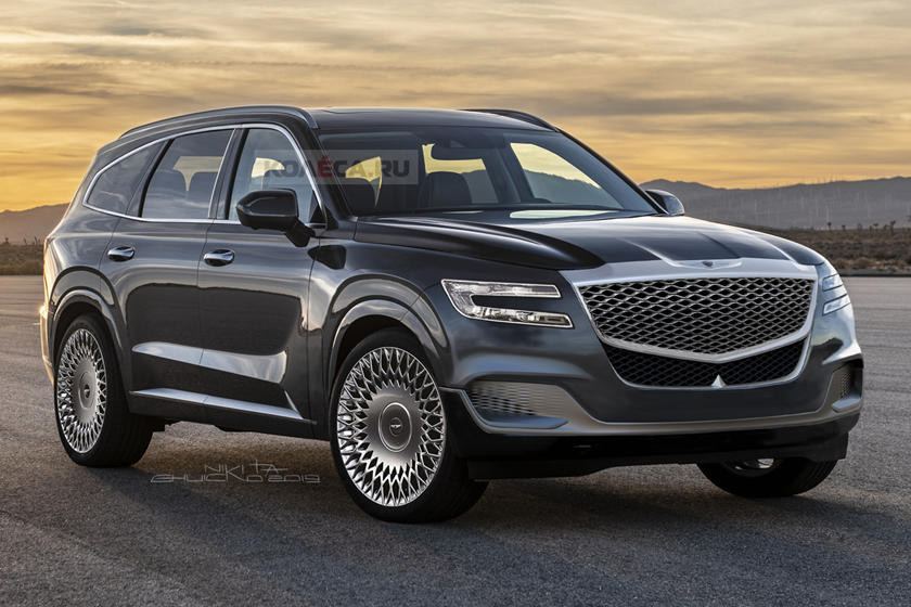 The Genesis GV80 Will Be One Sexy Looking SUV