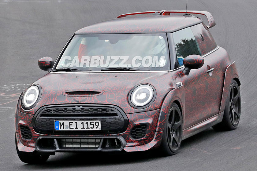 Take A Look Inside The Insane Mini Cooper Jcw Gp Carbuzz