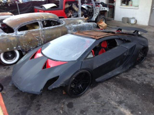 Own This Trashed Lambo Sesto Elemento Quot Nfs Quot Stunt Double