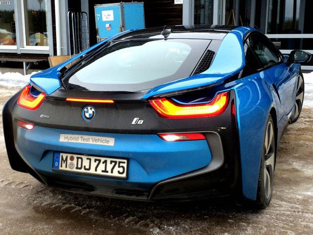 So What Will The Bmw I8 Really Sound Like Carbuzz