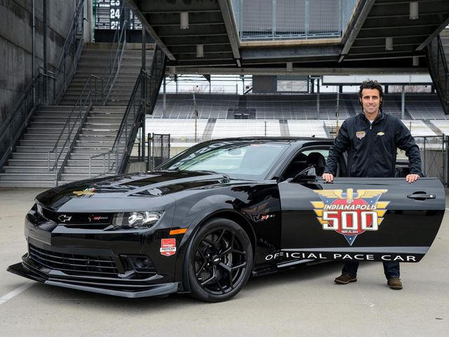 Chevrolet Camaro Z28 Selected As Indy 500 Pace Car Carbuzz