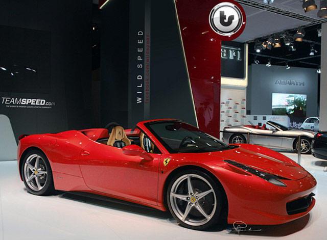 Ferrari 458 Italia Spider Convertible Rendered - CarBuzz
