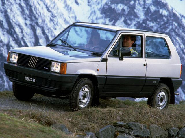 Cars America Missed Out On: Fiat Panda 4x4 - CarBuzz