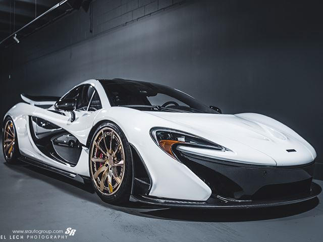 McLaren P1 Stuns On Gold PURs
