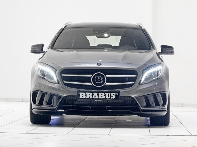 400 Hp Mercedes Gla 45 Is Another Brabus Special Carbuzz