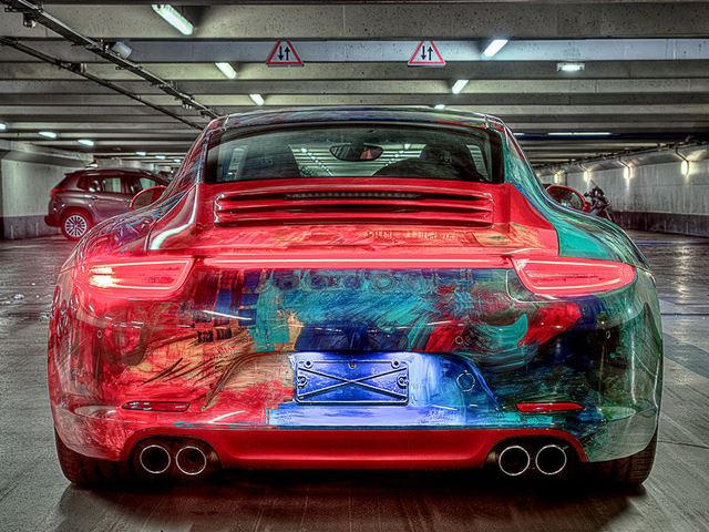 Porsche 911 Carrera Transformed Into Stunning Art Car Carbuzz
