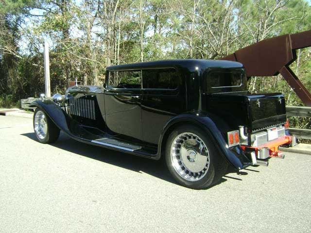 1931 bugatti royale reproduction is a masterpiece of excess, just