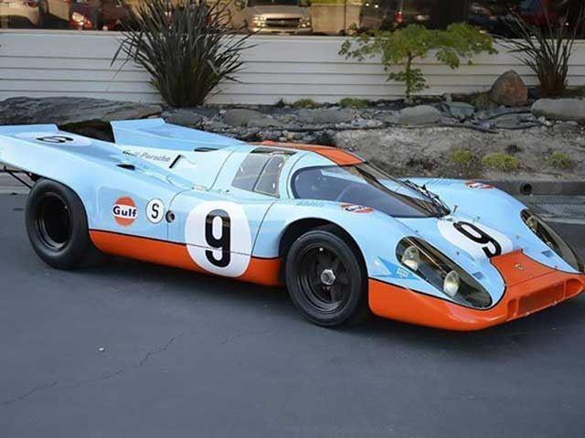 1969 Porsche 917k Short Tail In Gulf Livery King Of The Porsche