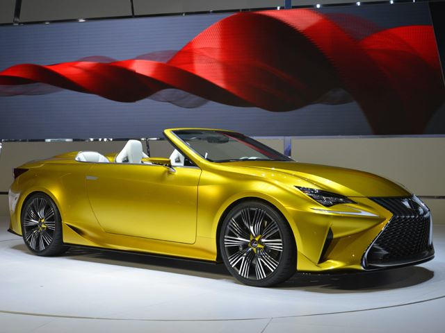 The Lexus LF C2 Concept, Unveiled In LA, Looks Like A Sports Car ...