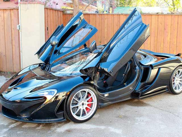privately owned mclaren p1 for sale in texas at well above list