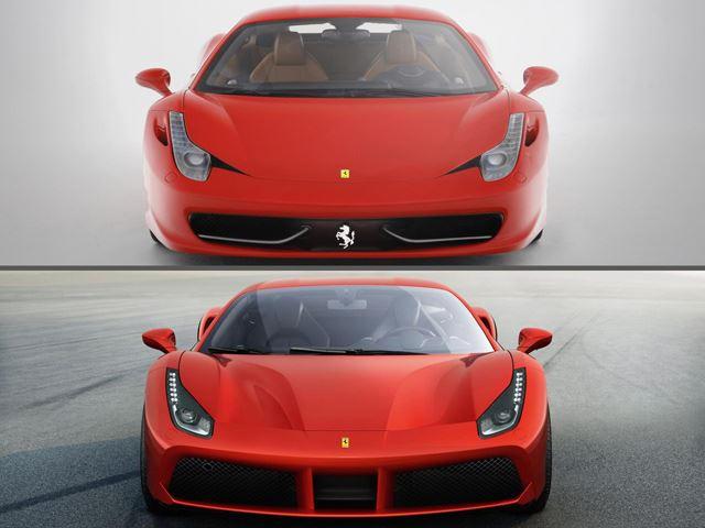 turbocharging era has begun: ferrari 458 italia vs. 488 gtb - carbuzz