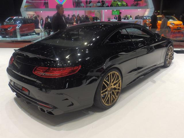 Brabus Tuned Mercedes S63 Amg Coupe Is Excess At Its Finest Carbuzz