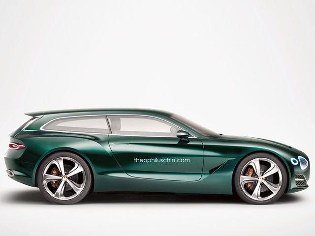 Now This Is What The Bentley Exp 10 Speed 6 Concept Should Be Carbuzz