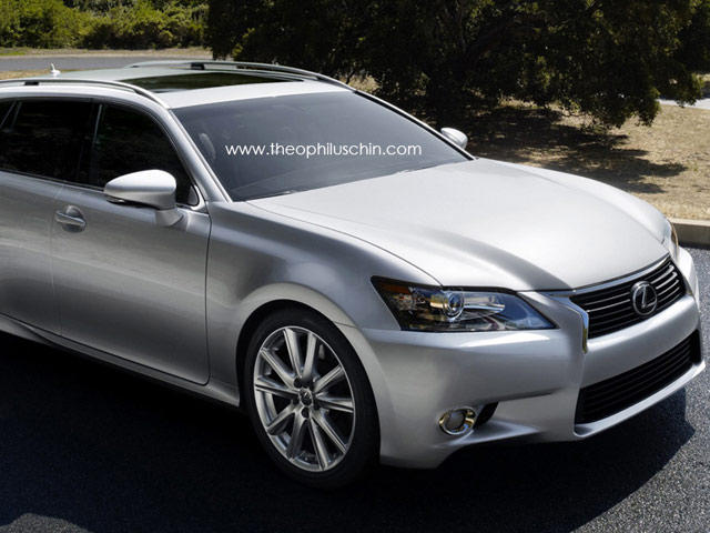 Lexus Gs Wagon >> Rendered Lexus Gs Wagon Carbuzz