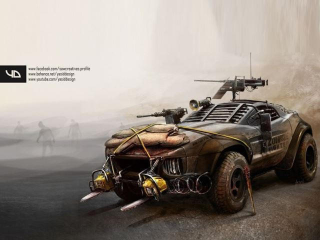 9 Heavily Modified Cars That Ll Guarantee Your Zombie Apocalypse