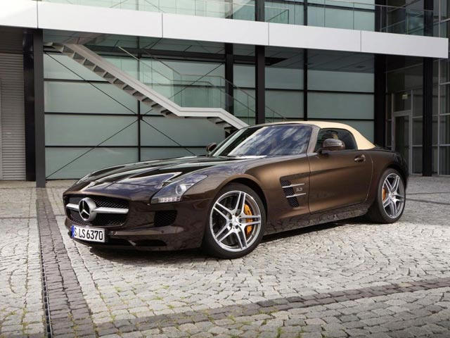 Mercedes Benz Gives SLS The AMG Ride Control Sport Suspension   CarBuzz