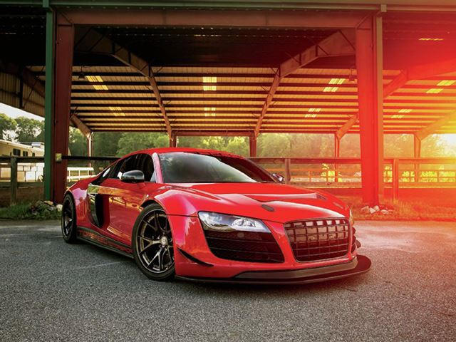 Is this insane custom job a fitting send off for the first audi r8 6 publicscrutiny Images