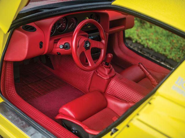 The Best Of 90s Bugatti Is This Ultra-Rare 1995 Bugatti EB110 SS ...