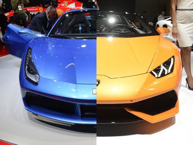 Lamborghini huracan vs ferrari 488
