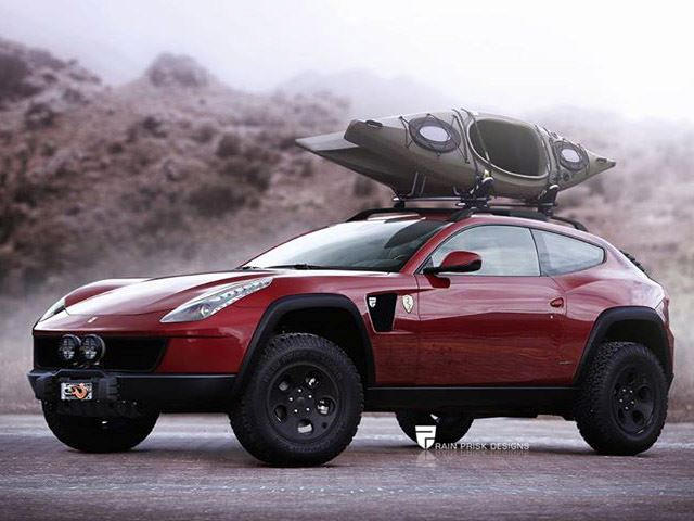 Is Ferrari Brave Enough To Build This Off Road Ff Carbuzz