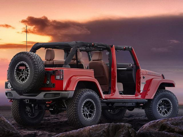 Other Exterior Items Include LED Headlights And Fog Lights, A Jeep Branded  CB Radio, ...