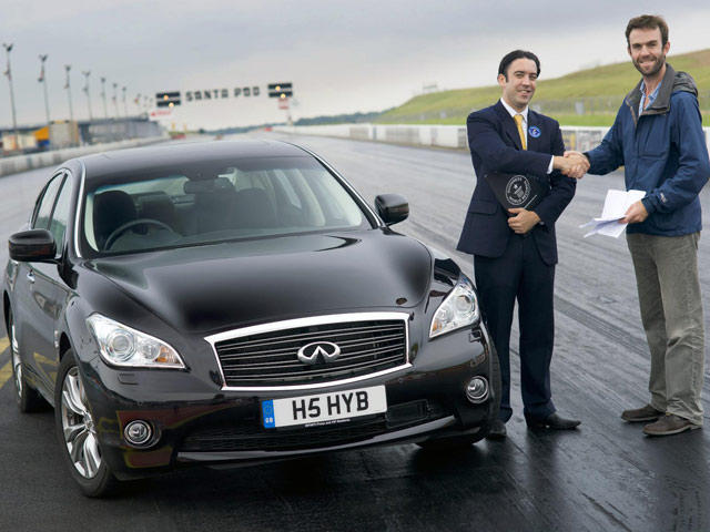 Infiniti M35h Enters The Guinness Book Of World Records Carbuzz