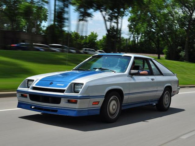 85 dodge shelby charger