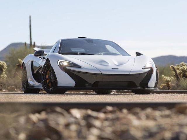 The Final US Spec McLaren P1 Is Heading To Auction   CarBuzz