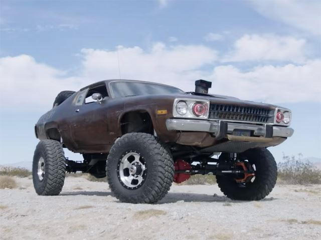 A 4x4 Off Road Muscle Car Sure Why The Hell Not Carbuzz