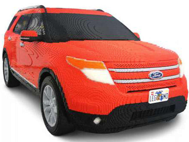 Top 5 Life Sized Lego Cars Carbuzz