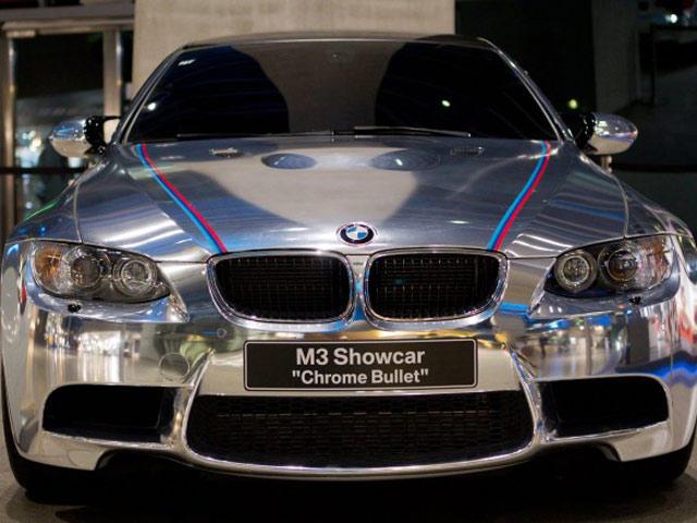 BMW Unveils M3 Coupe Chrome Bullet - CarBuzz