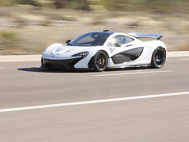 How Many Millions Is The Last US Spec McLaren P1 Worth?   CarBuzz