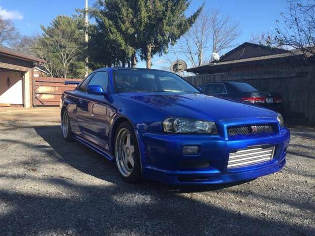 Someone Is Selling An R34 Nissan GT-R On Craigslist That's ...