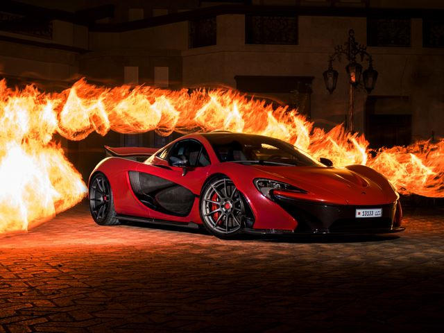 Whatu0027s So Special About This Bright Red McLaren P1?   CarBuzz