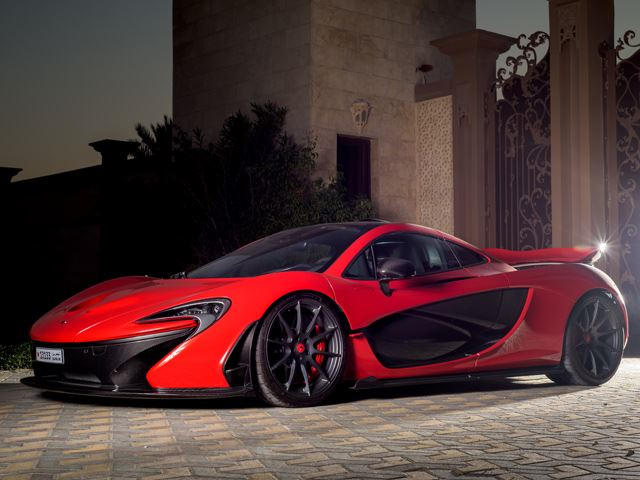 What S So Special About This Bright Red Mclaren P1 Carbuzz