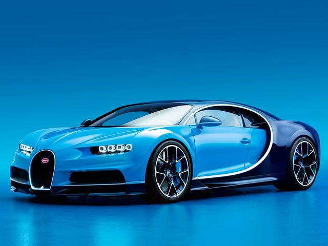 the bugatti chiron is here: 1500 hp and a speedometer that hits 310