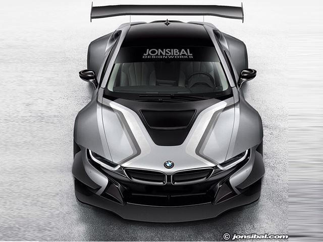 What Would A Bmw I8 Gt3 Be Like Carbuzz