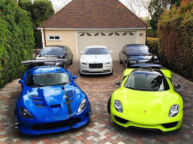 these 5 youtubers have the coolest car collections. Black Bedroom Furniture Sets. Home Design Ideas
