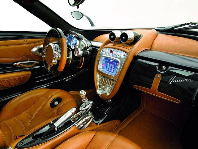 Interiors Explained How 4 Materials Make The Pagani Huayra S
