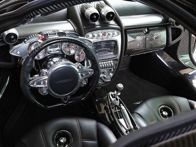 Interiors Explained: How 4 Materials Make The Pagani ...